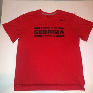 Property of Georgia Football Shirt Nike Large
